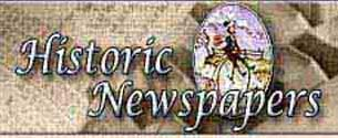Historic Newspapers, Newton Stewart, Scotland